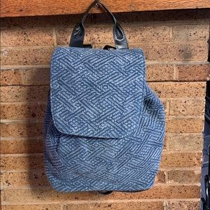 Ecote Urban Outfitters jean backpack.